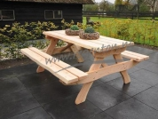 Picknicktafel Alexia 180 cm naturel
