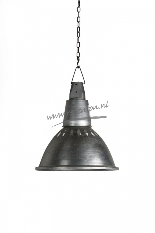 Industrie lamp alu. Open